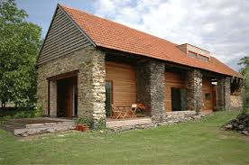Small Barn Houses Barn Houses Separate Body Inserted Stone Barn House