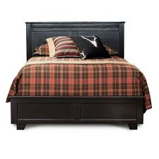 black casual contemporary queen size bed diego rc willey