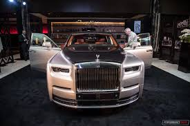 chrysler rolls royce new rolls royce phantom viii debuts in australia performancedrive