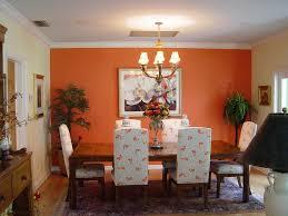Orange Dining Chair Orange Dining Room Home Design Ideas