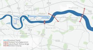 thames river map europe no the thames is not too wide to build new river crossings in east