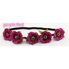 hair band cm cherry hair bohemian sand flower hair band