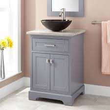 Bathroom Vanity Grey by Gray Modern Vanity Signature Hardware