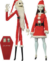 jack and sally are ready to fill mr sandy claws u0027 boots this year