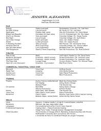 Child Actor Resume Sample Child Actress Resume
