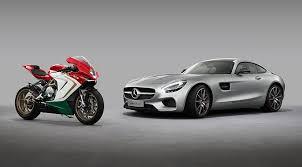 mercedes maker mercedes amg buys 25 of bike firm mv agusta by car magazine