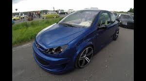 peugeot car wheels peugeot 206 blue colour bmw m wheels tuning show car