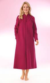 robe de chambre en courtelle robe chambre zippée songe afibel