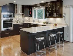 Designed Kitchens Black Is The New White In Kitchens The Columbian
