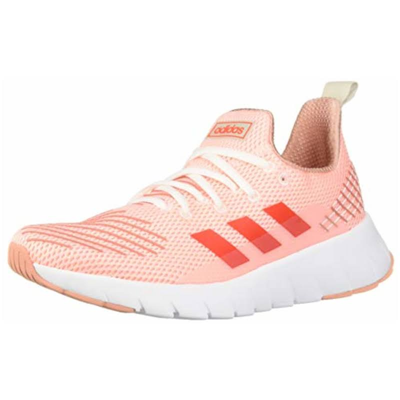 Adidas Asweego Clear Orange / Solar Red Raw White Ankle-High Mesh Running 8M