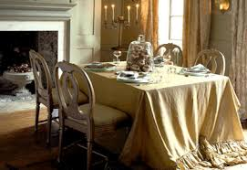 Christmas Dining Room Decorations - trendy dining room decorating gold white christmas ideas