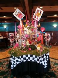 alice in wonderland prom decorations party themes inspiration
