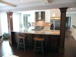 kitchen island posts kitchen island with post dark wood kitchen islands with island