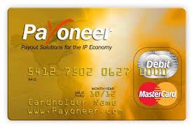 free debit card get payoneer debit master card via odesk techntick