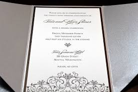 appealing silver wedding anniversary invitations 46 about