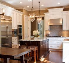 lovable light paint colors for kitchen with tumbled marble tile