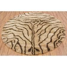 round zebra print rug roselawnlutheran