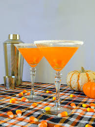 sweet martini candy corn martini