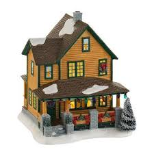 a christmas story leg l department 56 a christmas story village ralphie s house lit house