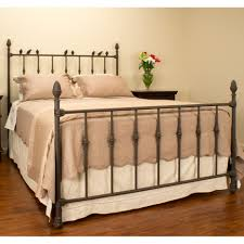 wrought iron bed frame king susan decoration