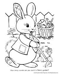 peter cottontail coloring pages peter cottontail u0027s garden