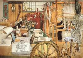 watercolour by carl larsson 1853 1919 sweden