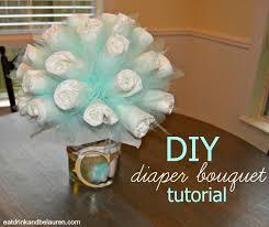 Bouquet Diy Eat Drink And Be Lauren Diy Diaper Bouquet Tutorial