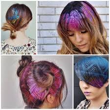 10 stenciling hair color ideas for 2017 new hair color ideas