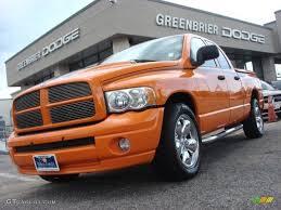 Dodge Ram Custom - 2004 custom orange dodge ram 1500 hemi gtx regular cab 65553472