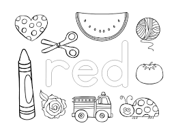 color names coloring pages the super teacher