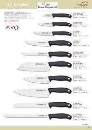 1359 kitchen knives evo 3 claveles kitchen utensils kitchen
