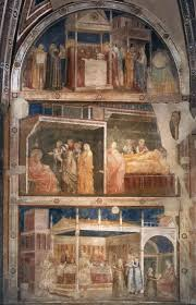 205 best ea giotto images on pinterest fresh painting and giotto di bondone scenes from the life of st john the baptist north wall