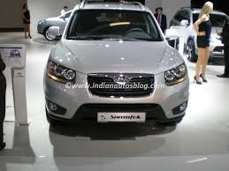 2010 hyundai santa fe towing capacity hyundai santa fe suv coming to india by september