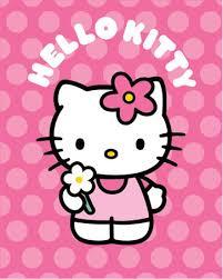 pink spotty kitty poster 50cm 40cm buy