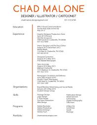 Sample Chronological Resume Templates Sample Cover Letter For Creative Job Gallery Cover Letter Ideas