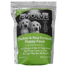 evolve puppy formula natural dog food shop dry at heb