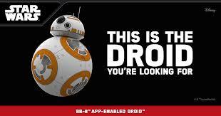 bb 8 toy star wars app enabled droid sphero
