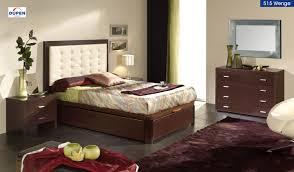 Modern Bed With Headboard Storage Dupen 515 Contemporary Storage Platform Bed Esf Furniture