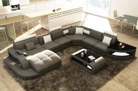 canapé d angle 8 places canapé d angle 8 places nora gris foncé et blanc angle droit