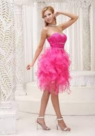graduation dresses middle school gorgeous hot pink middle school graduation dresses with ruffles