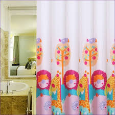 Shower Curtain Blue Brown Bathroom Fabulous Outdoor Shower Curtain Shower Shower Curtain