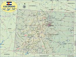 San Luis Valley Colorado Map by Map Of Colorado United States Usa Map In The Atlas Of The