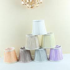 modern light lamps with fabric lamp shades chandelier mini