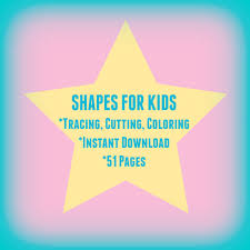 prewriting worksheets for preschoolers polygons shape cutouts