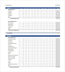 business budget template madinbelgrade