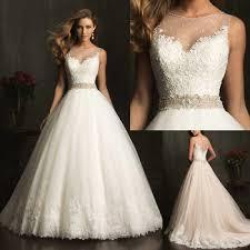custom made wedding dress 2014 new fashion modest bridal a line appliqued soft tulle