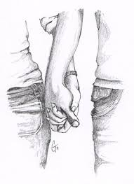 images u003e pencil sketches of couples holding hands relashionships