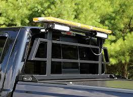 whelen ambulance light bar fleet rack custom truck rack whelen engineering automotive