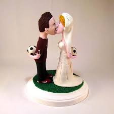 custom wedding toppers custom wedding cake toppers right brain creations home soccer