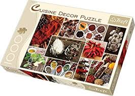 puzzle cuisine trefl spices puzzle 1000 pieces amazon co uk toys